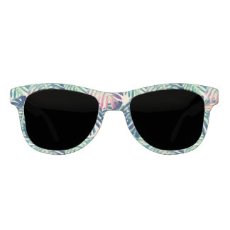 tropical fronds sunglasses