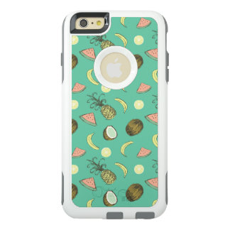 Tropical Fruit Doodle Pattern OtterBox iPhone 6/6s Plus Case