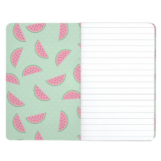Tropical Fruit Paint Splatter Pattern Journal