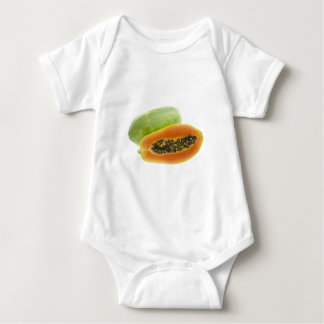 Tropical fruit - Papaya Baby Bodysuit
