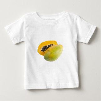 Tropical fruit - Papaya Baby T-Shirt