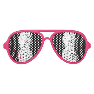 Tropical fruit pineapple party shades sunglasses