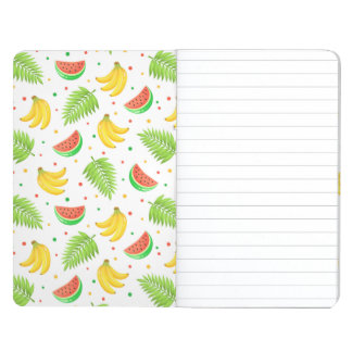 Tropical Fruit Polka Dot Pattern Journal