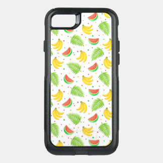 Tropical Fruit Polka Dot Pattern OtterBox Commuter iPhone 8/7 Case