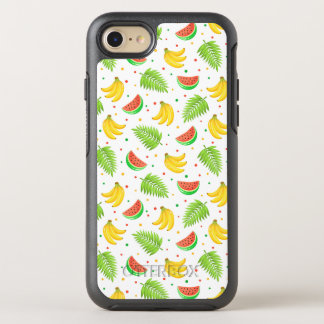 Tropical Fruit Polka Dot Pattern OtterBox Symmetry iPhone 8/7 Case