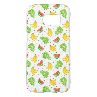 Tropical Fruit Polka Dot Pattern Samsung Galaxy S7 Case