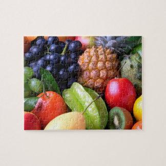 Tropical Fruit Puzzles