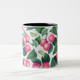 Tropical fruit two tone mug