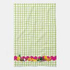 Tropical fruits kitchen towel