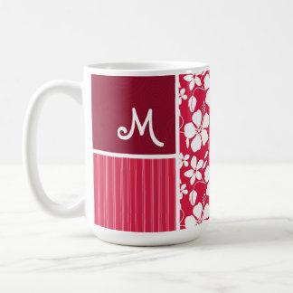 Tropical Fuschia Hibiscus Coffee Mug