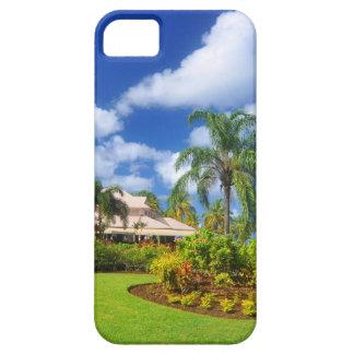 Tropical garden iPhone 5 case