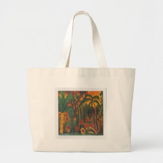 Tropical Garden Large Tote Bag