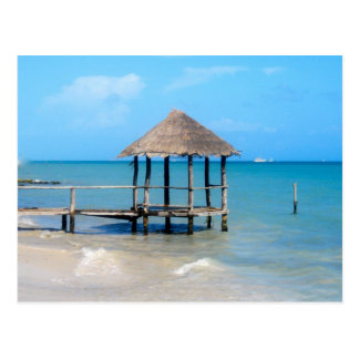 Tropical Gazebo Postcard