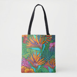 Tropical Gems All-Over Tote Bag