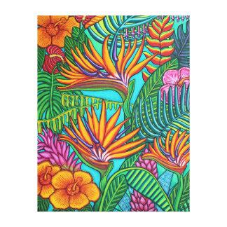 Tropical Gems Canvas Print
