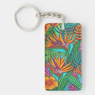 Tropical Gems Key Chain