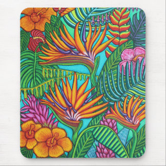 Tropical Gems Mouse Pad