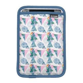 Tropical Geometric Pattern iPad Mini Sleeve