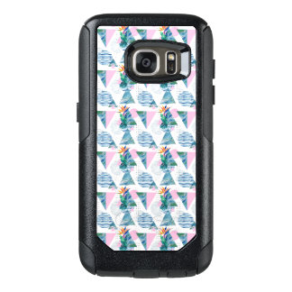Tropical Geometric Pattern OtterBox Samsung Galaxy S7 Case