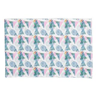 Tropical Geometric Pattern Pillowcase