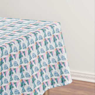 Tropical Geometric Pattern Tablecloth