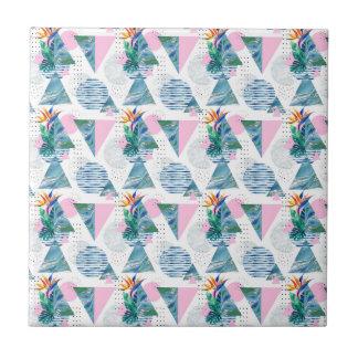 Tropical Geometric Pattern Tile