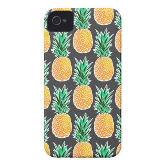 Tropical Geometric Pineapple Pattern Case-Mate iPhone 4 Cases