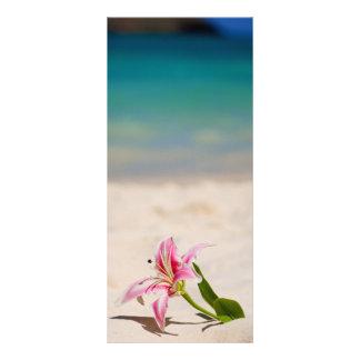 Tropical Getaway Rack Card