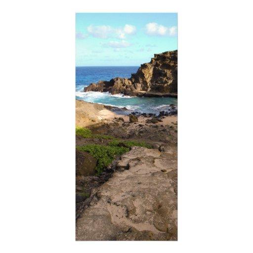 Tropical Getaway Rack Cards
