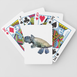 Tropical Giant Gar Bicycle Playing Cards