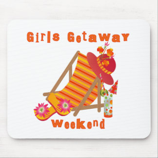 Tropical Girls Getaway Weekend Mouse Pad
