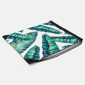 Tropical Glam back pack Drawstring Bag