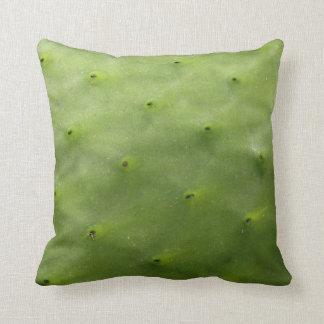Tropical Green Cactus Photo Throw Pillow