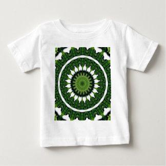 Tropical Green Mandala Baby T-Shirt