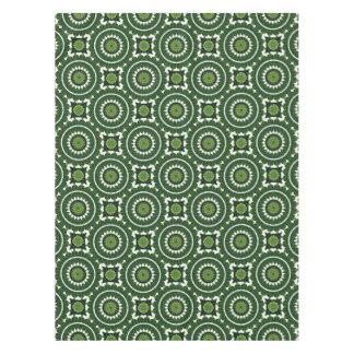 Tropical Green Mandala Tablecloth