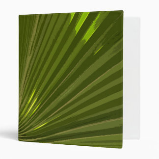 Tropical Green Palm Frond Binder