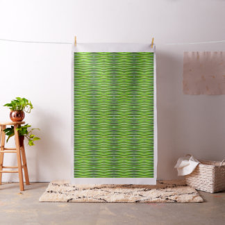Tropical Green Riverweed Fabric