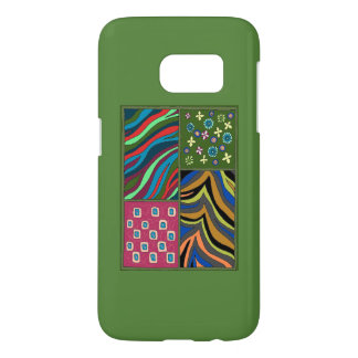 Tropical Green Tapestry Galaxy Samsung 7 Casemate Samsung Galaxy S7 Case