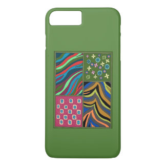 Tropical Green Tapestry iPhone7 Plus Casemate Case