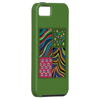 Tropical Green Tapestry iPhone 5/5s Casemate Case