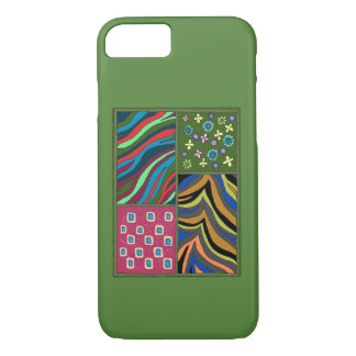 Tropical Green Tapestry iPhone 7 Casemate Case