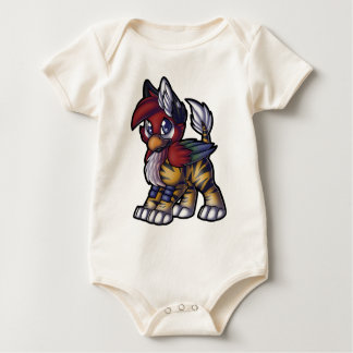 Tropical Gryphon Baby Bodysuit