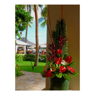 Tropical Hawaii Poster