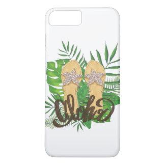 Tropical Hawaiian Flip Flop Aloha iPhone 7 Plus Case