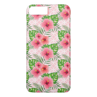 Tropical Hawaiian Hibiscus Flower iPhone 8 Plus/7 Plus Case