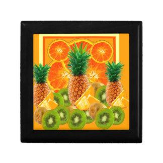 tropical  HAWAIIAN PINEAPPLE & ORANGE SLICES KIWI Gift Box
