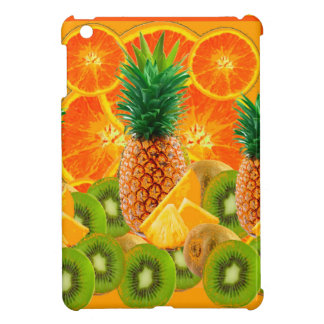 tropical  HAWAIIAN PINEAPPLE & ORANGE SLICES KIWI iPad Mini Case