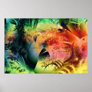 Tropical Heat Print