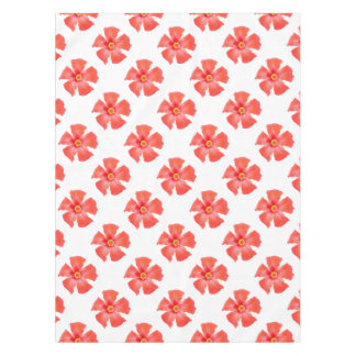 Tropical Hibiscus Flower Vector Tablecloth