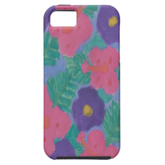 Tropical Hibiscus Flowers iPhone 5 Cases